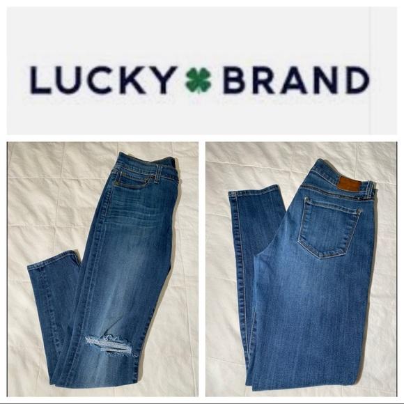 Lucky Brand Brooke Skinny Jeans 8